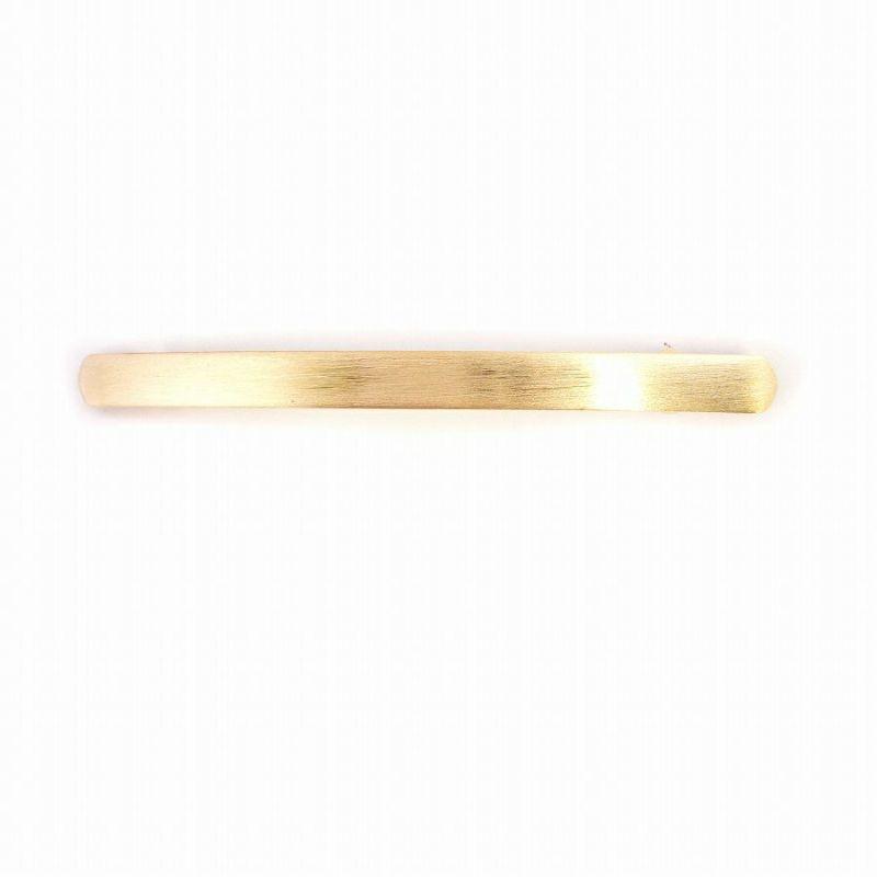 ゴールドのメタルバレッタ(パターン2)